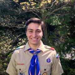 Ben Eagle Scout Photo