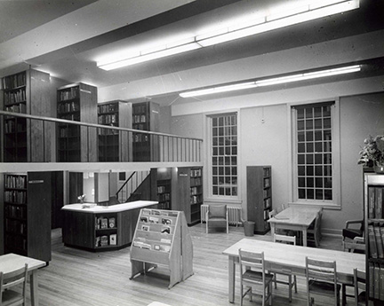 Gilman memorial Library Extension, 1965