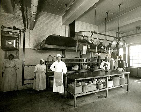 Gilman Country School Kitchen Staff, 1912