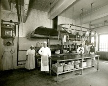 Gilman Country School Kitchen Staff, 1912